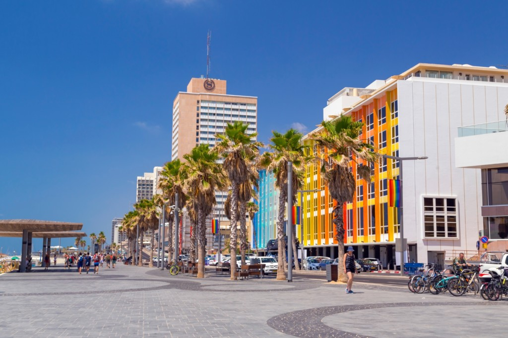 Tel Aviv, Beach Area
