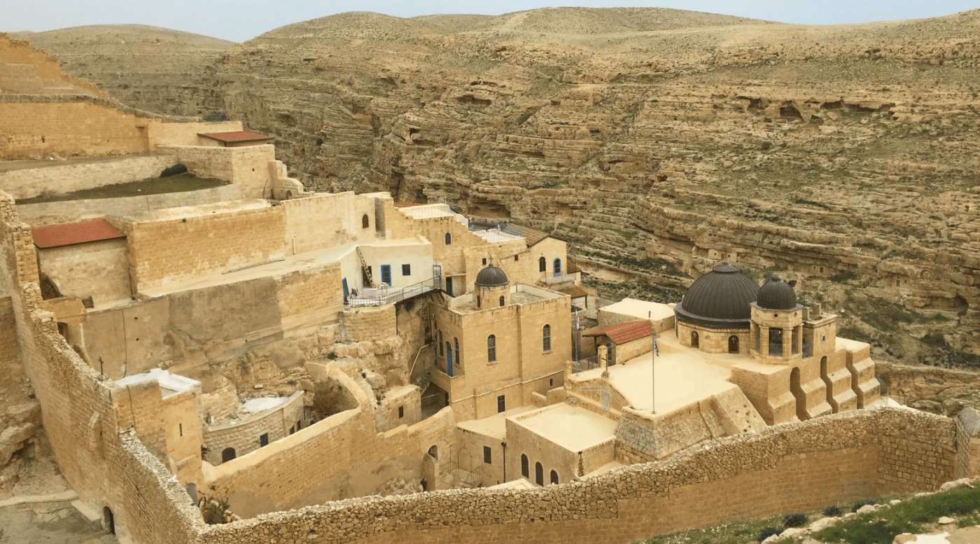 Mar Saba Monastery Israel attraction