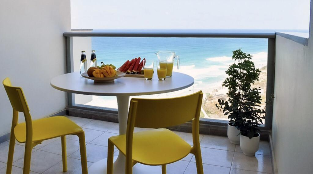 cozy Israel sea view apartment