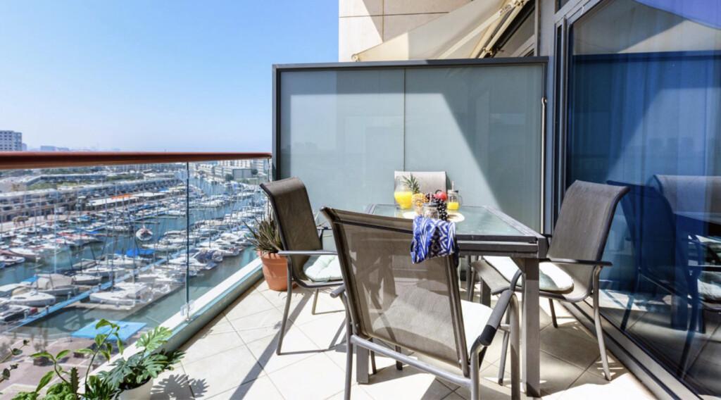 luxury vacation rental in Israel, best view apartment