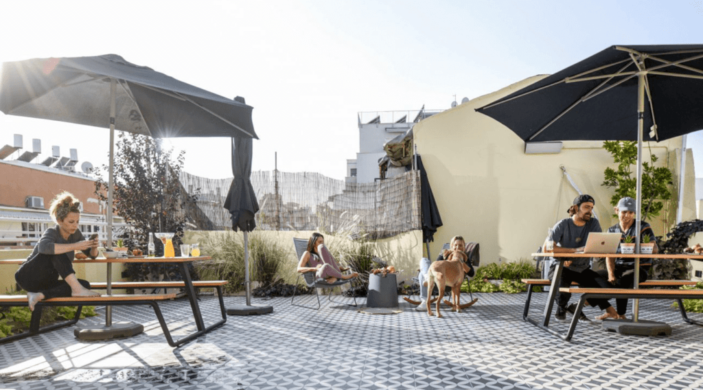 party and bbq rooftop apartment in Israel