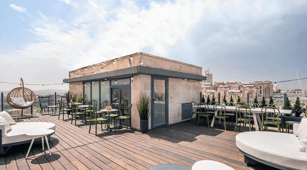 1 Bedroom Deluxe apartment with huge rooftop in Israel
